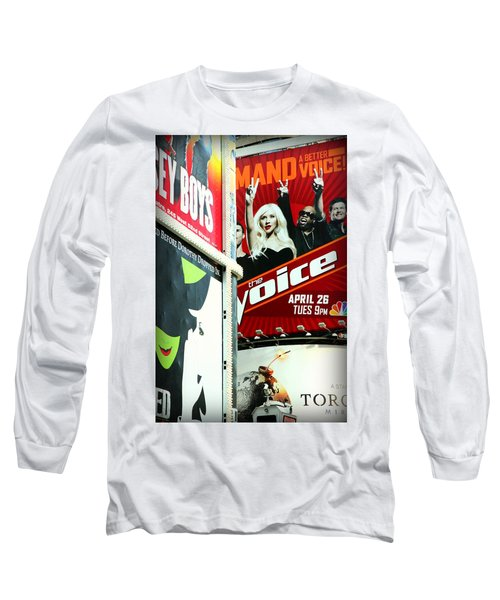 Times Square Billboards Long Sleeve T-Shirt