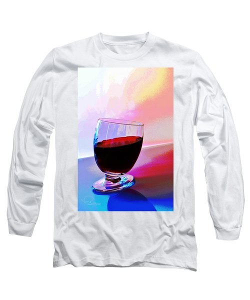 Tipsy Long Sleeve T-Shirt by Ludwig Keck