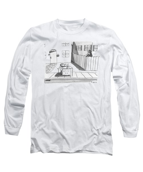 Title: Conspiracy Theories $10 A Boy Is Slumped Long Sleeve T-Shirt