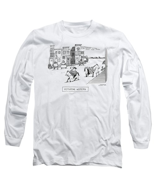 Fettuccini Western Long Sleeve T-Shirt