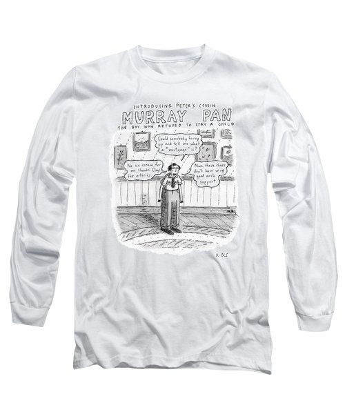 Title: Introducing Peter's Cousin Long Sleeve T-Shirt