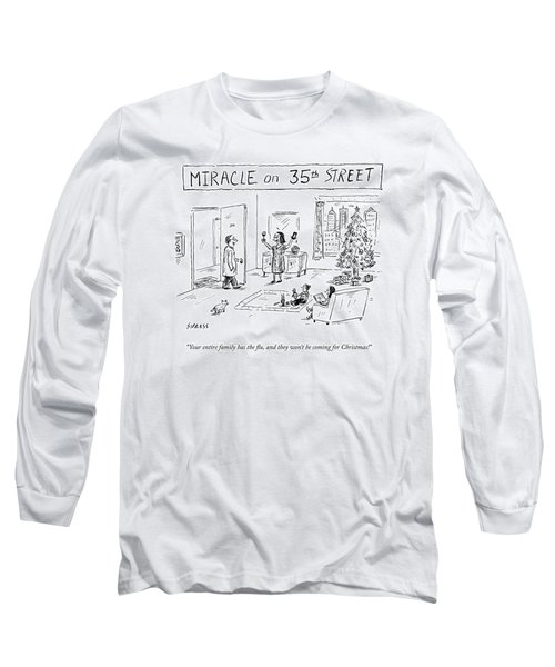 Title: Miracle On 35th Street. A Family Long Sleeve T-Shirt