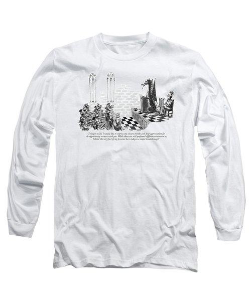 To Begin Long Sleeve T-Shirt