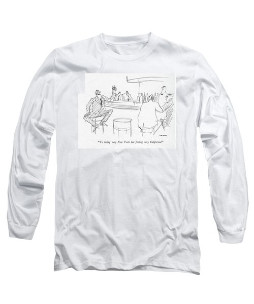 To Living Very New York But Feeling Long Sleeve T-Shirt