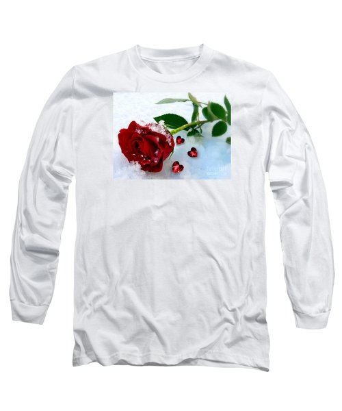 To Make You Feel My Love Long Sleeve T-Shirt by Morag Bates