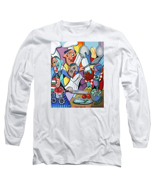 To Many Cooks In The Kitchen Long Sleeve T-Shirt
