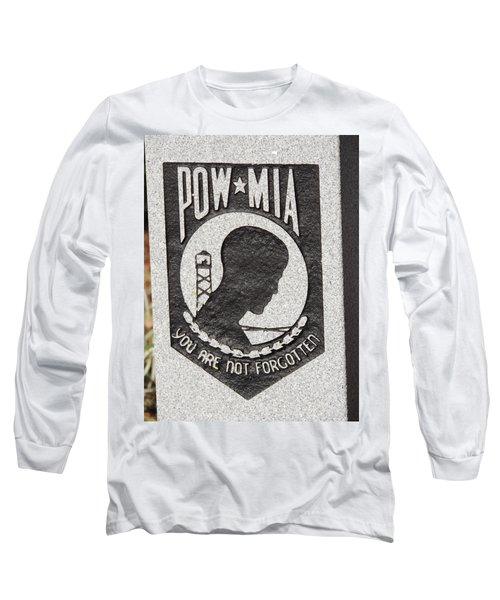 Long Sleeve T-Shirt featuring the photograph To Our Heros by Aaron Martens