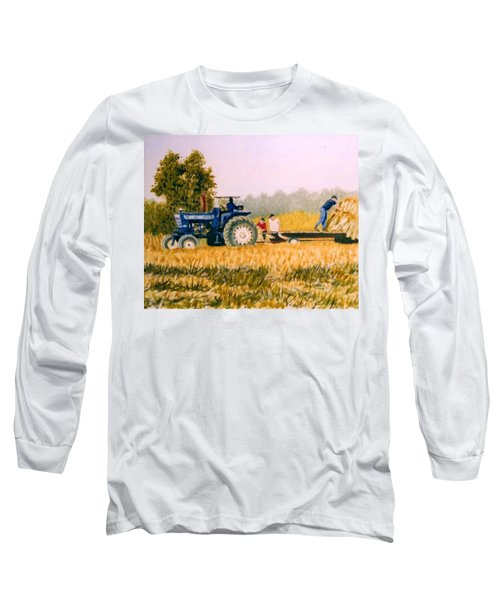 Tobacco Farmers Long Sleeve T-Shirt by Stacy C Bottoms