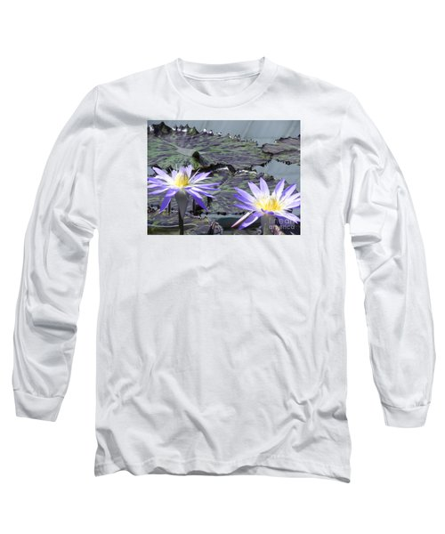 Long Sleeve T-Shirt featuring the photograph Together Is Beauty by Chrisann Ellis