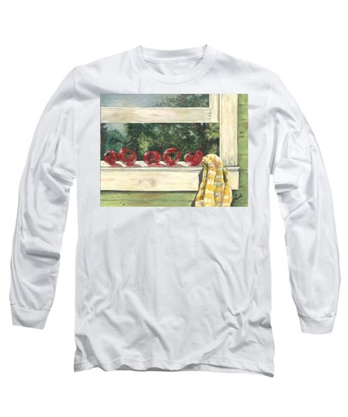 Tomatoes On The Sill Long Sleeve T-Shirt