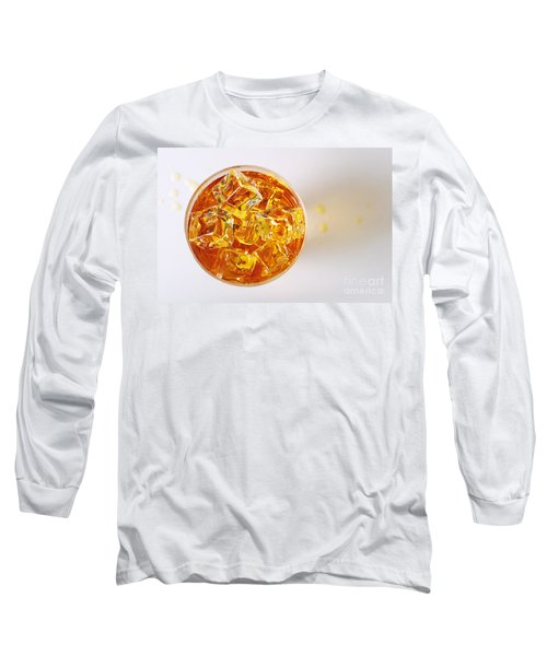 Top View On Drink Long Sleeve T-Shirt