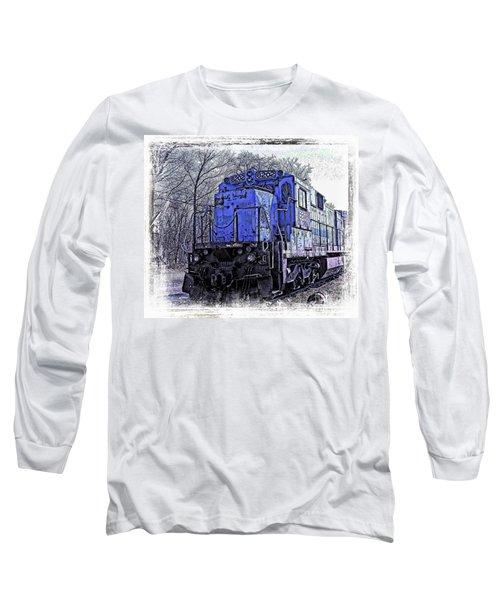 Train Series Long Sleeve T-Shirt by Marcia Lee Jones