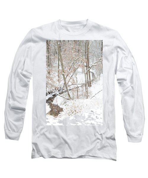Tranquil Winters Creek Long Sleeve T-Shirt
