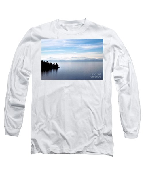 Tranquility - Lake Tahoe Long Sleeve T-Shirt