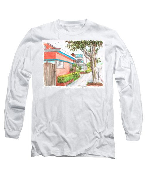 Tree In Laguna Riviera Hotel In Laguna Beach - California Long Sleeve T-Shirt