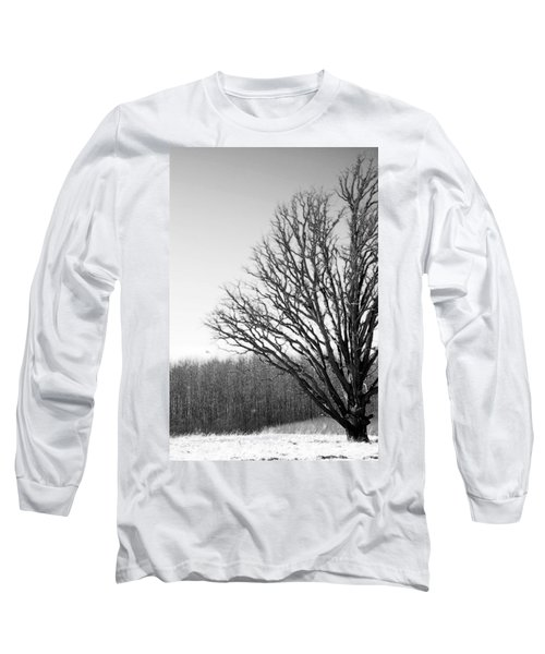 Tree In Winter 2 Long Sleeve T-Shirt