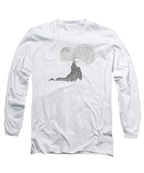 Tree Of Uncertainty Long Sleeve T-Shirt