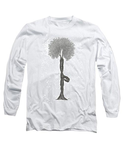 Tree Pose Long Sleeve T-Shirt