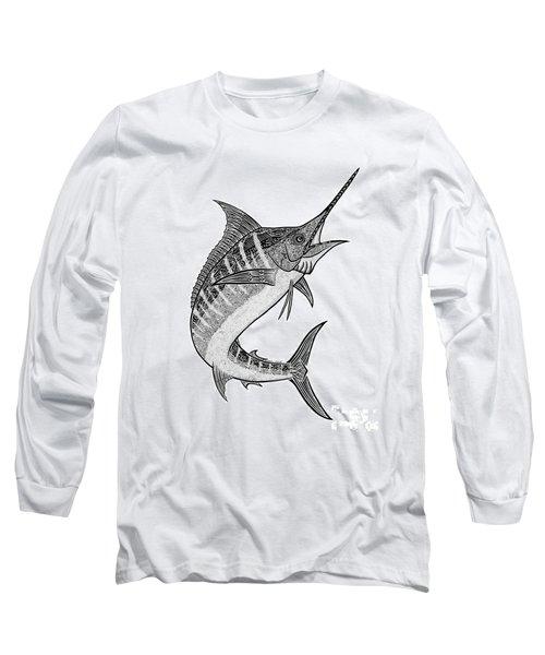 Tribal Marlin IIi Long Sleeve T-Shirt