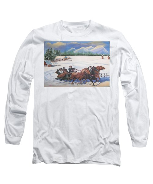 Troika Long Sleeve T-Shirt by Catherine Swerediuk