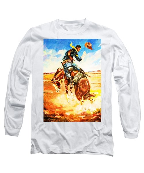 Trooper On A Skiddish Mount Long Sleeve T-Shirt