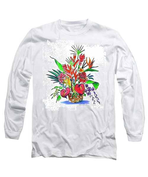 Tropical Basket Long Sleeve T-Shirt
