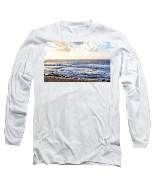 Long Sleeve T-Shirt featuring the photograph Tropical Morning  by Roselynne Broussard