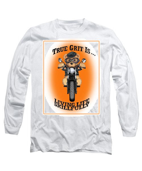 True Grit Long Sleeve T-Shirt by Jerry Ruffin