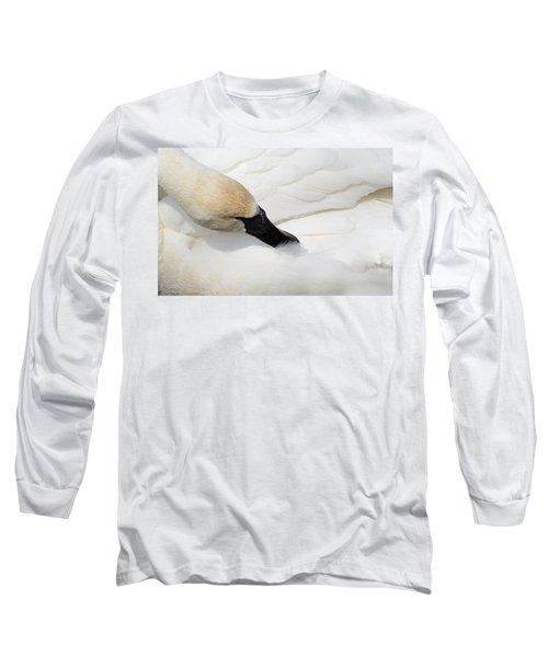 Trumpeter Swan Long Sleeve T-Shirt