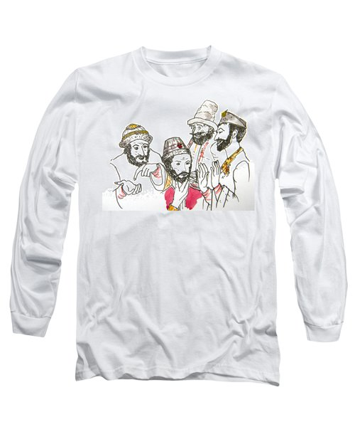 Tsar And Courtiers Long Sleeve T-Shirt