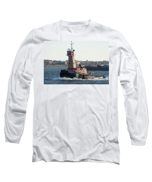 Tugboat Dace Reinauer Long Sleeve T-Shirt by Kenneth Cole