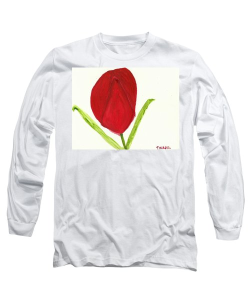 Tulip Of The Heart Long Sleeve T-Shirt