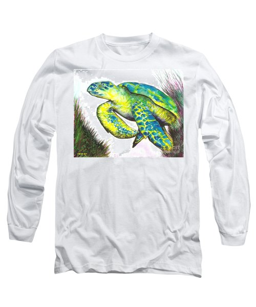 Turtle Wonder Long Sleeve T-Shirt