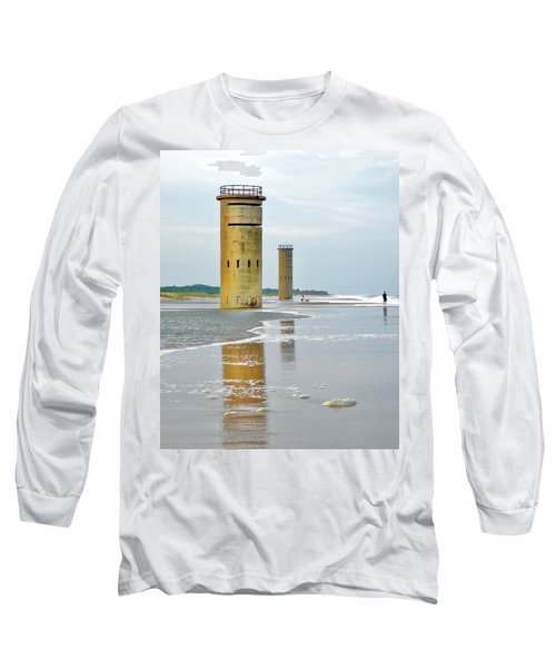 Twin Towers At Whiskey Beach Long Sleeve T-Shirt