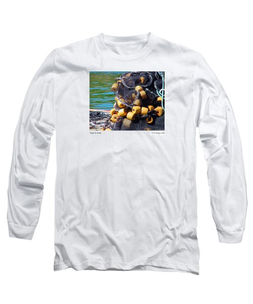 Twine And Corks Long Sleeve T-Shirt