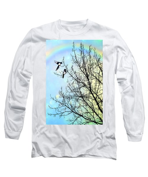 Two For Joy Long Sleeve T-Shirt by John Edwards