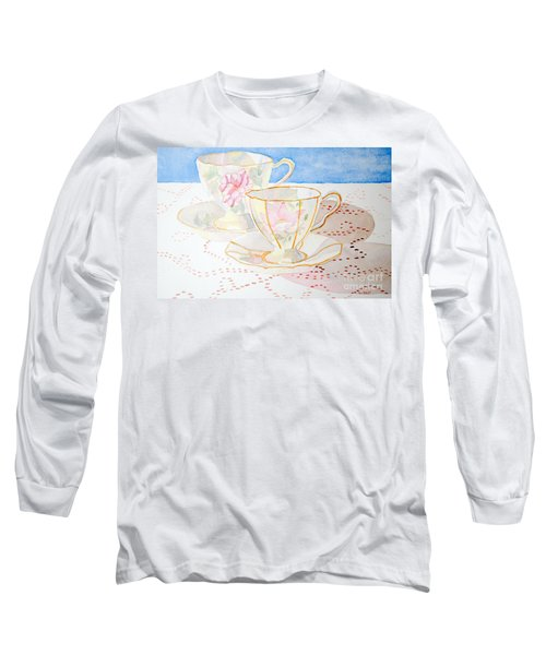 Two For Tea Long Sleeve T-Shirt