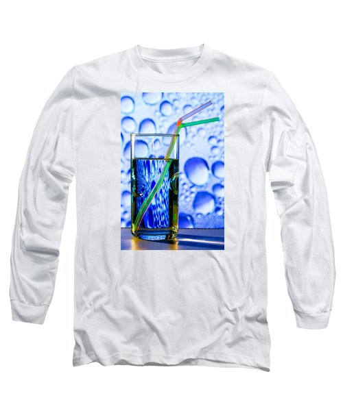 Long Sleeve T-Shirt featuring the photograph Two In Bubbles by Edgar Laureano
