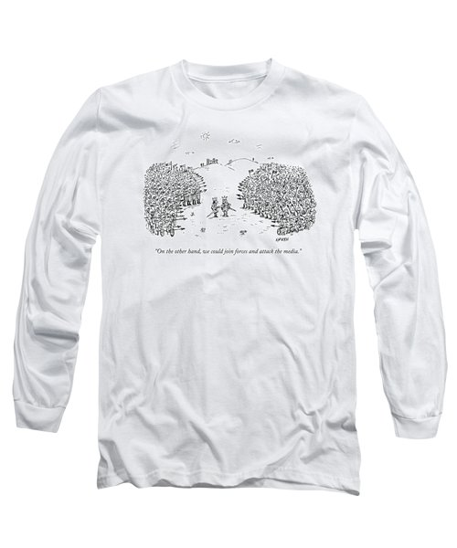 Two Kings Speak To Each Other In The Middle Long Sleeve T-Shirt