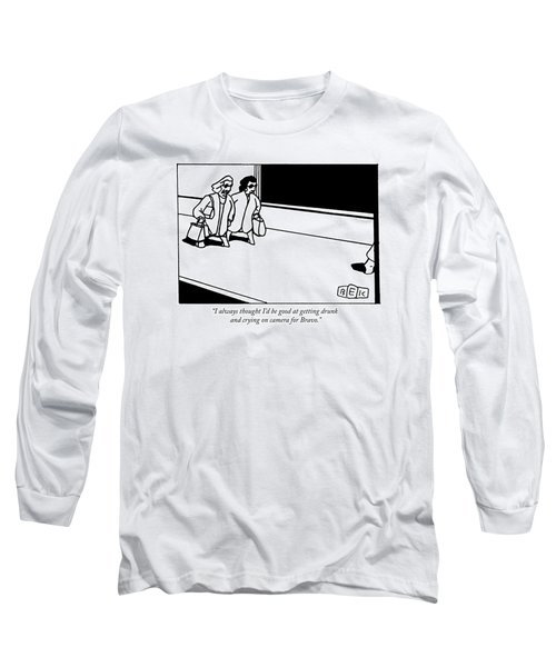 Two Middle-aged Women Walk Down The Street Long Sleeve T-Shirt