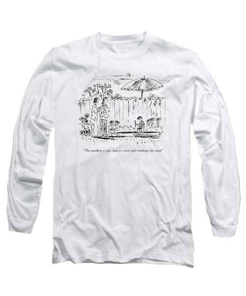 Two Mothers Are Standing In A Backyard Next Long Sleeve T-Shirt