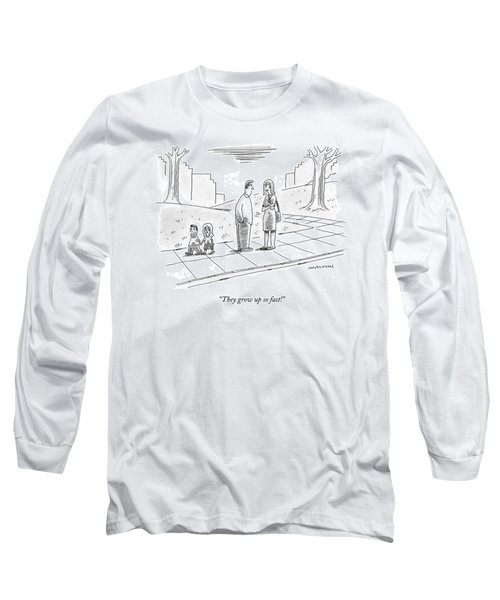 Two Parents Talk About Their Children Long Sleeve T-Shirt