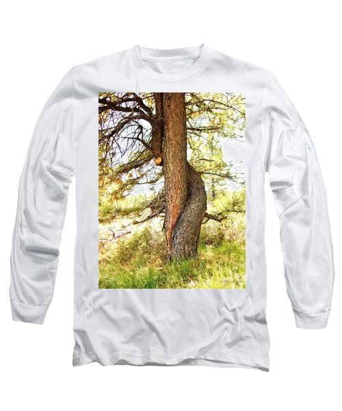 Two Pines Intertwined  Long Sleeve T-Shirt