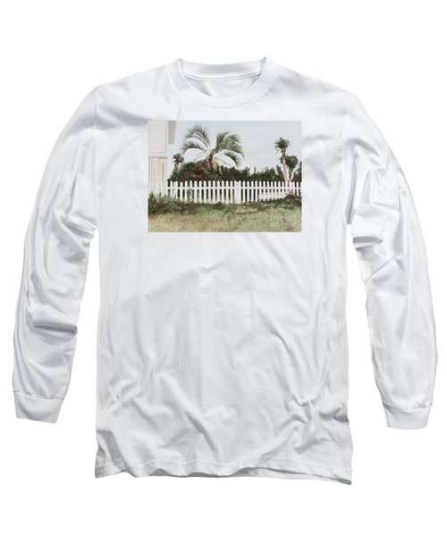 Tybee Island Roses Long Sleeve T-Shirt