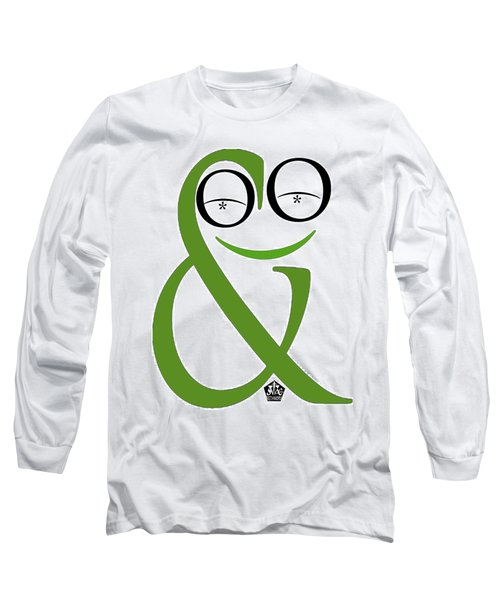 Typographical Frog Long Sleeve T-Shirt