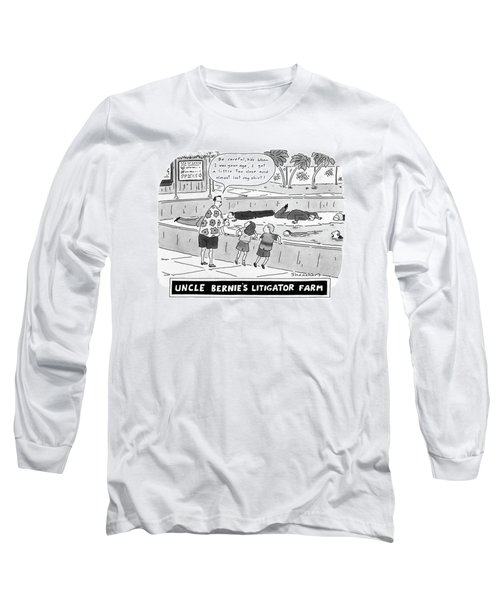 Uncle Bernie's Litigator Farm Be Careful Long Sleeve T-Shirt