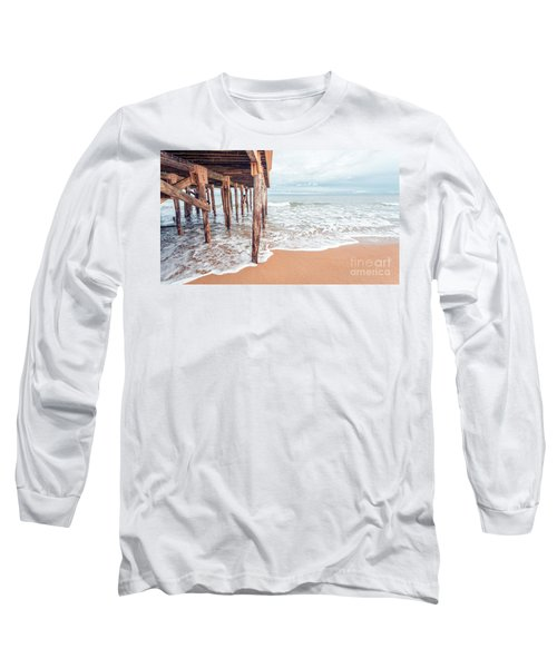 Under The Boardwalk Salsibury Beach Long Sleeve T-Shirt