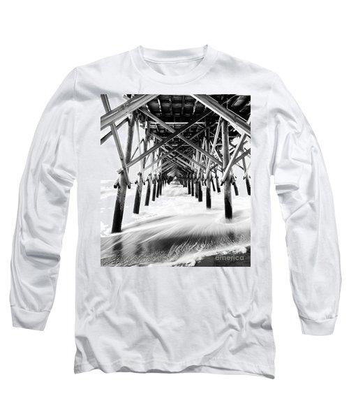 Under The Pier Folly Beach Long Sleeve T-Shirt