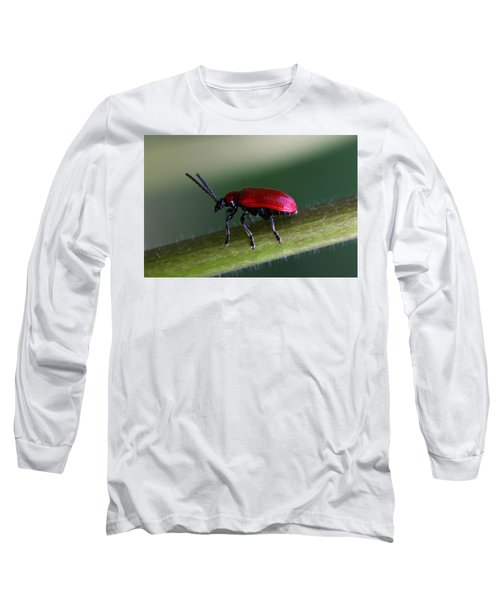 Long Sleeve T-Shirt featuring the photograph Under Way by Annie Snel
