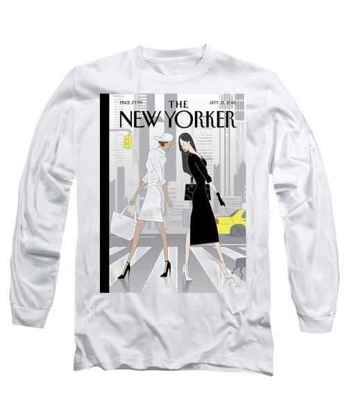Crosswalk Long Sleeve T-Shirt